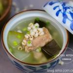 冬瓜薏米排骨汤-祛湿降脂