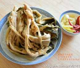 【小芒果食札】湖北农家土菜——鳝鱼筒子炖盐菜