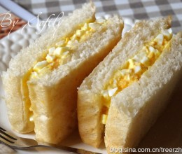 胚芽鸡蛋三明治
