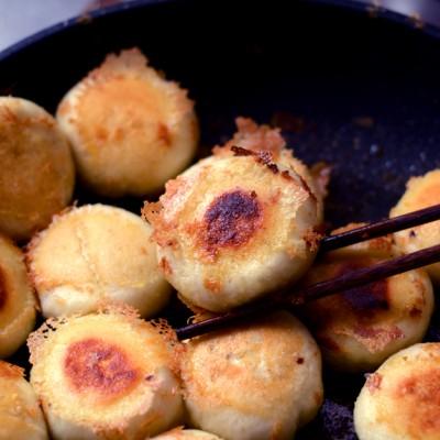 芹菜猪肉水煎包