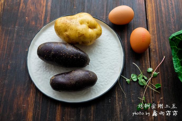 吃对土豆美如仙----土豆香肠沙拉