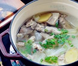 一点膻味没有的清汤,冬瓜焖羊肉