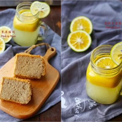 对抗酷暑的清新下午茶:枣泥戚风&青柠百香果