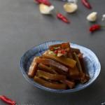 夏日必备的开胃小凉菜:酱莴笋