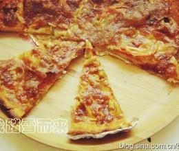 简单却上瘾的薄脆披萨