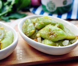 蒜蓉丝瓜、酸辣炝藕
