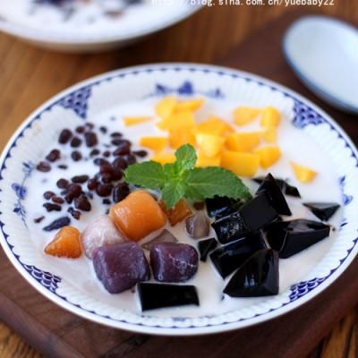 仙草蜜豆芋圆