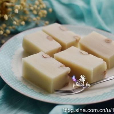 福建传统小吃-花生年糕