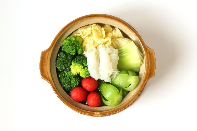 海味蔬菜煲