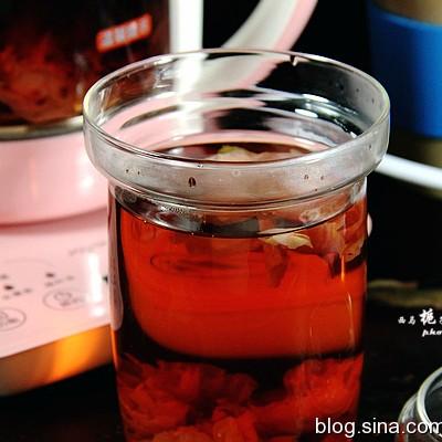 洛神玫瑰花草茶,补血调气,让你的小脸红扑扑