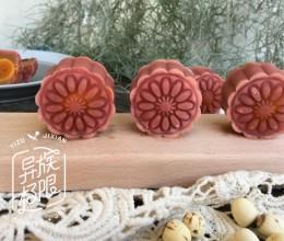 春风十里,不如七夕情人节给她做一款高颜值的桃山皮月饼