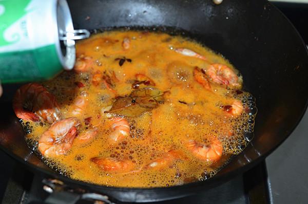 啤酒金钱虾--—换个香浓够味的方式吃虾