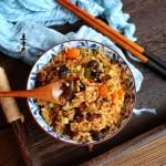 電飯煲燒肉蠔干燜飯