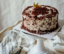 【黑森林蛋糕】给儿子做的生日蛋糕