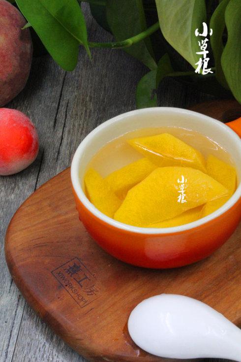儿童时代最奢忘的罐头——糖水黄桃