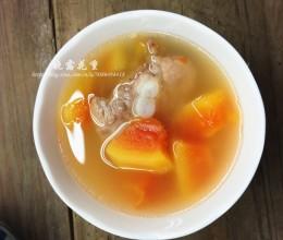 粉葛木瓜排骨汤