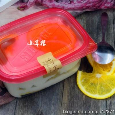 网红盒子蛋糕——橙香奶油蛋糕