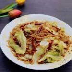 鲁菜-卷心菜炒粉条