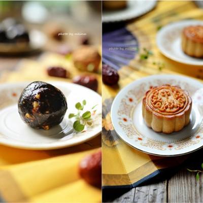 枣泥核桃月饼---自制纯正中秋味