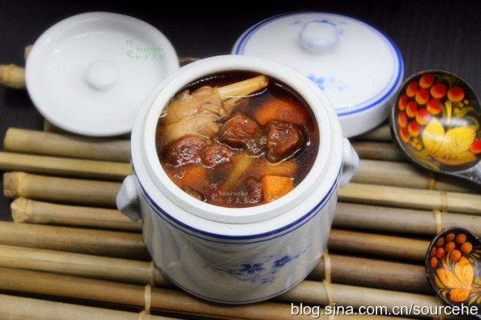 入秋的第一道补汤,罗汉果炖兔肉