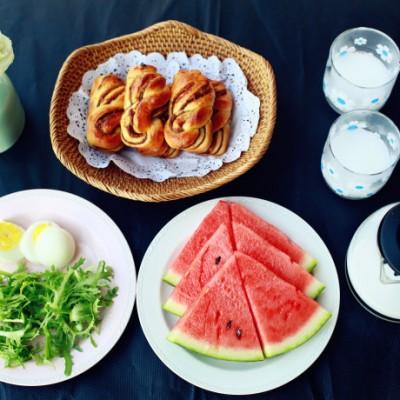 不重样早餐-6月份做过的那些早餐