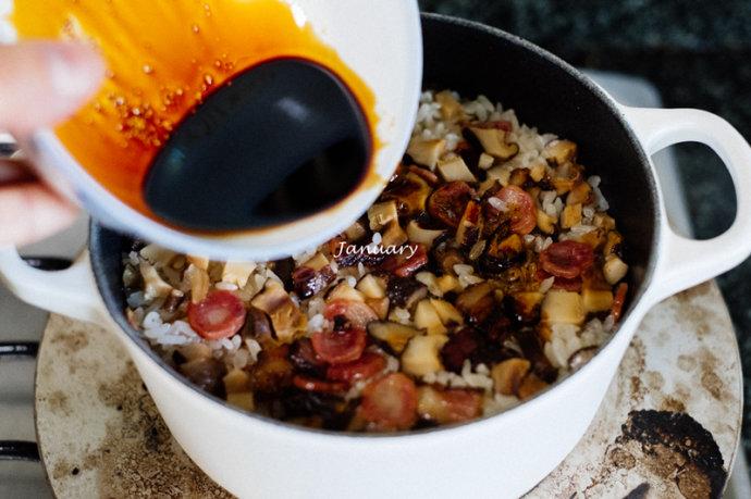 【腊味饭】香喷喷的能量米饭