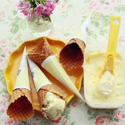 面包机版的冰淇淋简单易做也很好吃