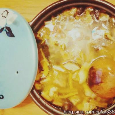 香菇毛笋干鸡汤