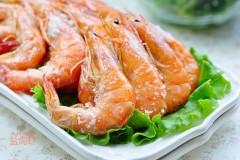 壳脆肉弹的盐焗海虾