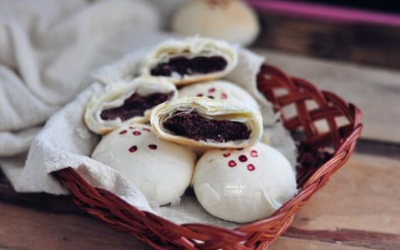 中秋红豆酥