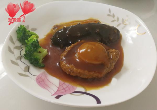星级宴客菜葱烧海参鲍鱼