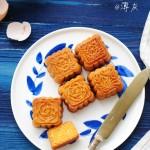 广式金沙奶黄月饼