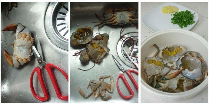 鲜掉眉毛的海蟹粥