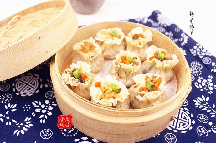 饺子皮做烧卖