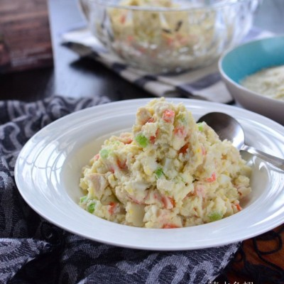 #趣味美食家#拌一拌就是一盘好吃极了的蔬菜沙拉