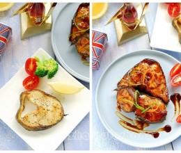 #趣味美食家#丰腴肥美细嫩多汁的阿拉斯加黑鳕鱼两吃【香煎&照烧】