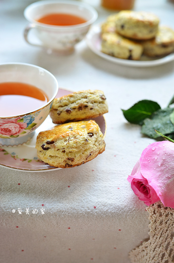 红豆司康--英式下午茶的首选