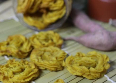 红薯曲奇饼-低能量粗粮曲奇
