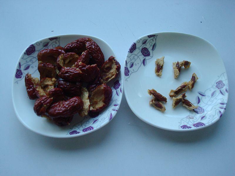 #趣味美食家#补血又乌发的碧根果红枣豆浆