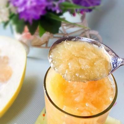 """自制蜂蜜柚子茶-干躁的秋季怎能拒绝""""天然美容茶"""""""
