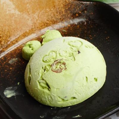 抹茶蔓越莓濃奶油冰淇淋