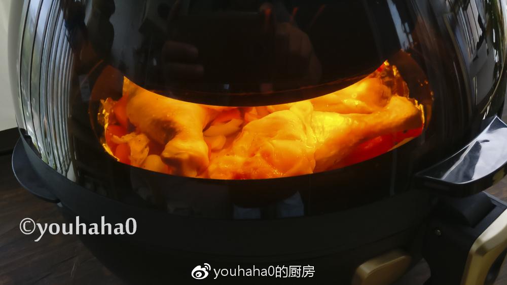 空气炸锅食谱-盐烤鸡腿