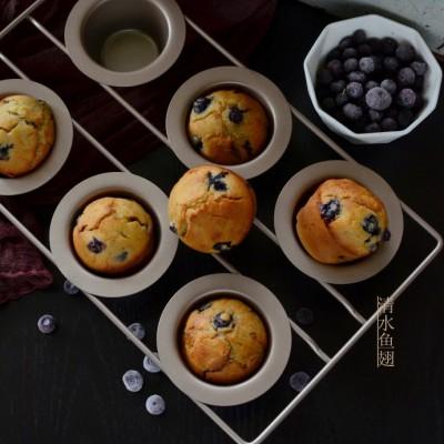 爆浆蓝莓麦芬