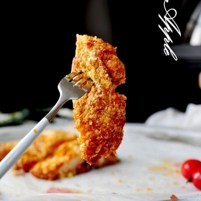 空气炸锅食谱-香酥蜜汁鸡腿