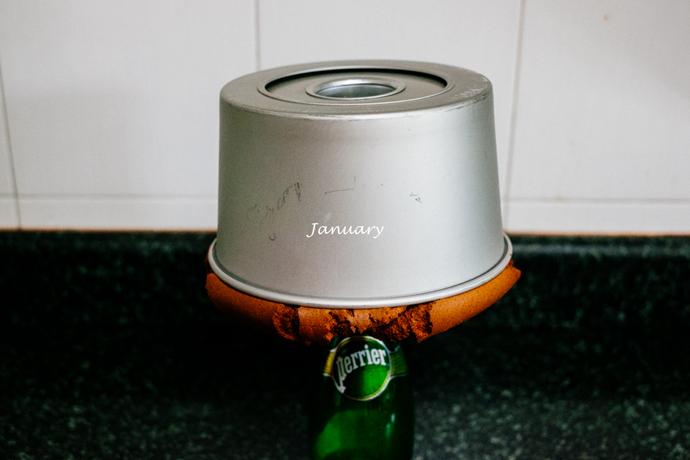 空气烤箱食谱-咖啡酒戚风蛋糕