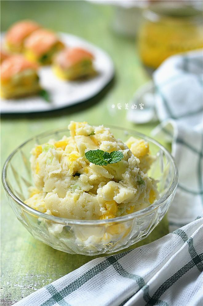 #趣味美食家#三文鱼土豆泥—10分钟快手美味的土豆泥新吃法