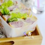 早餐不但要吃好,更要高顏值,雙色紫薯吐司滿足全家人