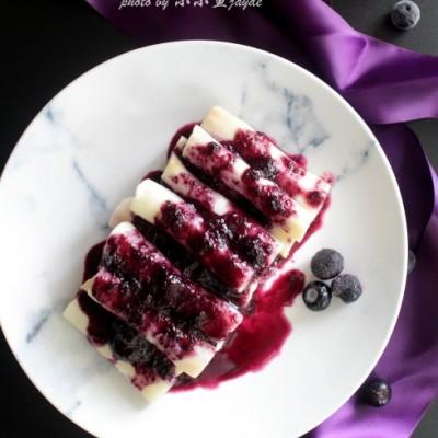 #趣味美食家#蓝莓果酱和蓝莓淮山
