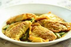 鸡蛋饺烩白菜