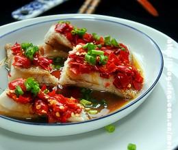 #趣味美食家#剁椒鲽鱼